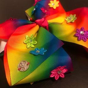 JoJo Siwa Rainbow Flower Power Bow